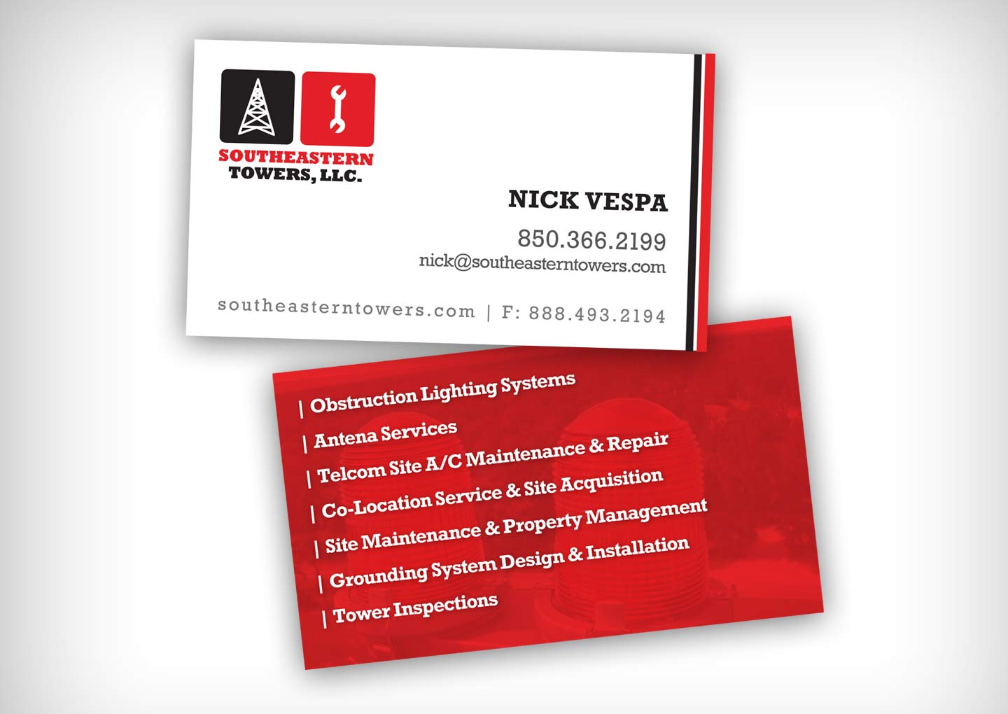 Southeastern Towers Business Cards